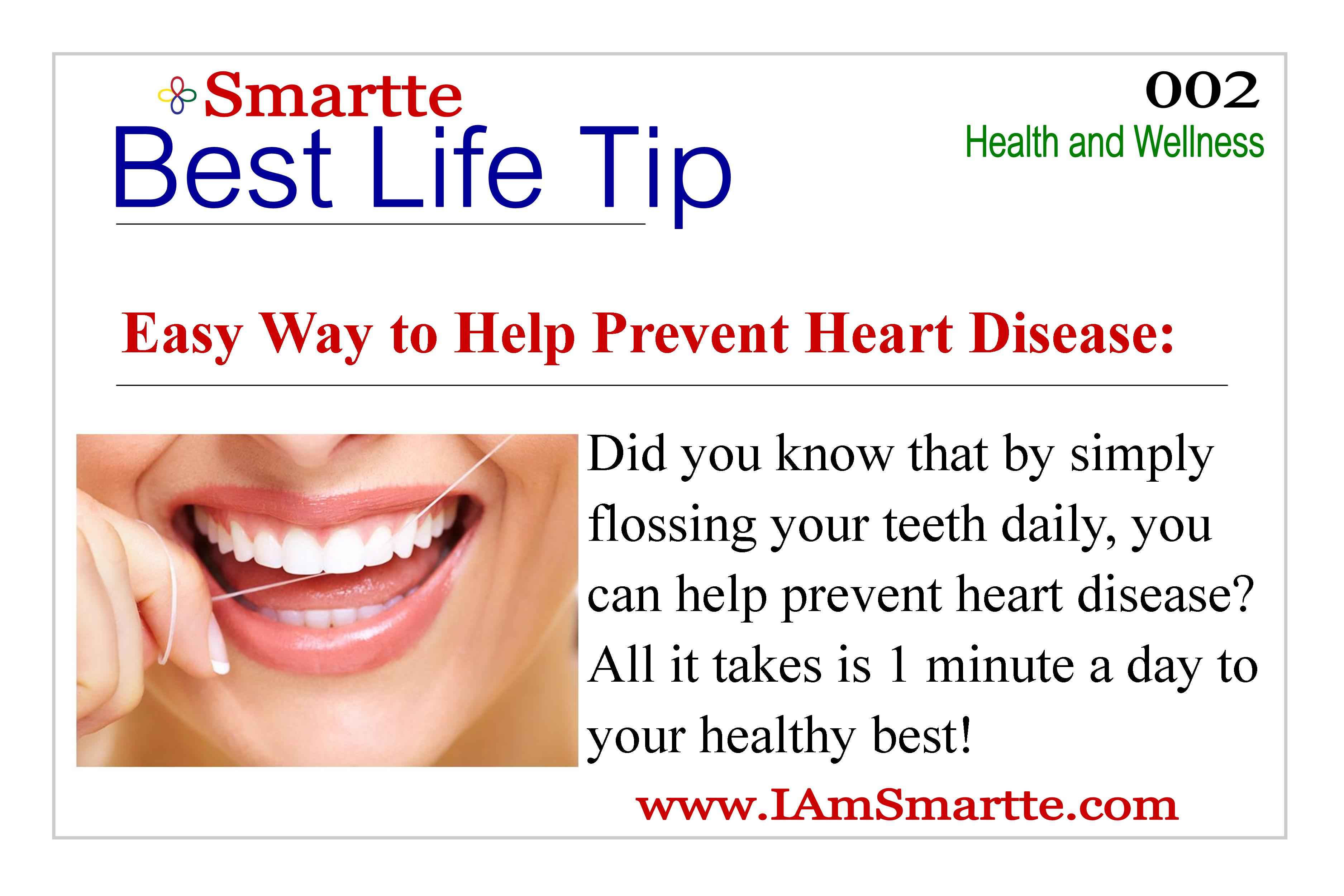 Smartte Heart Healthy Tips
