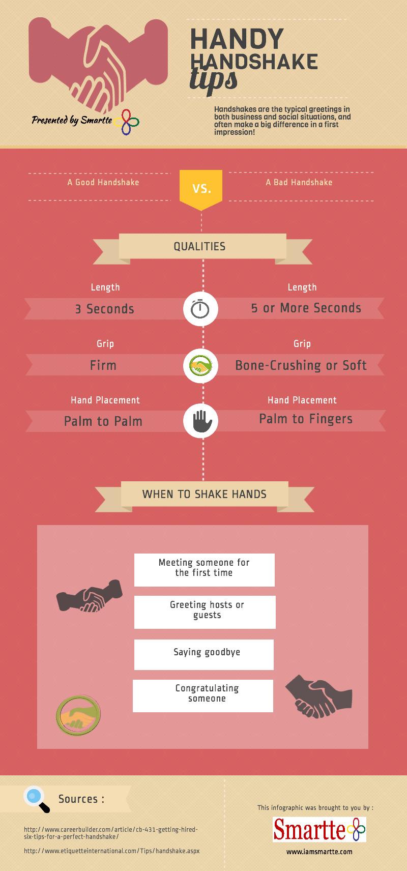 Handshake Tips