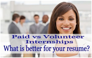 What is the value of an Unpaid Internship