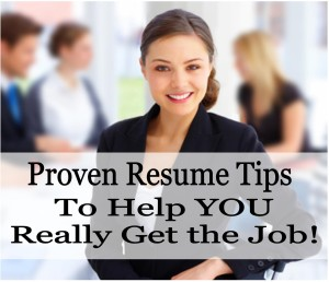 Proven Resume Tips